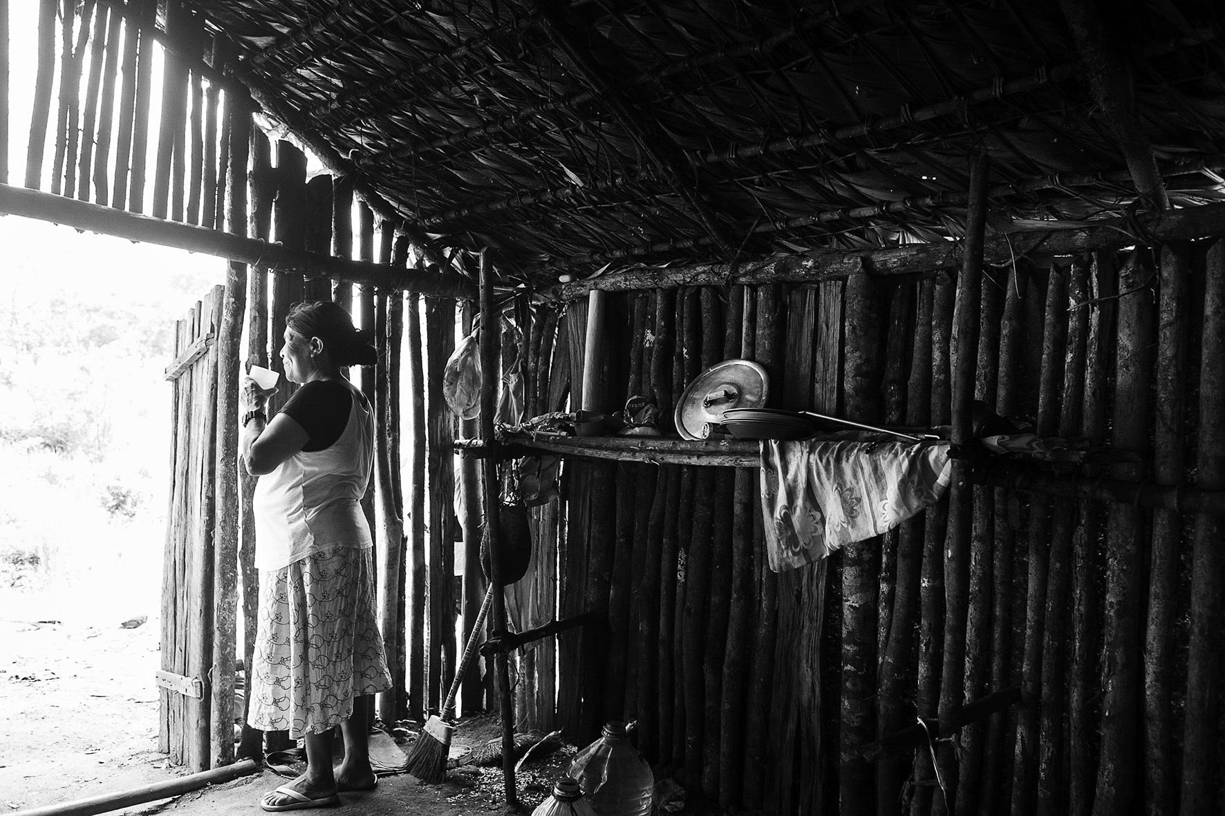 Aldeia Yrexaka - Territorio indigena Tenonde Pora - zona sul de Sao Paulo - Foto Dani Sandrini