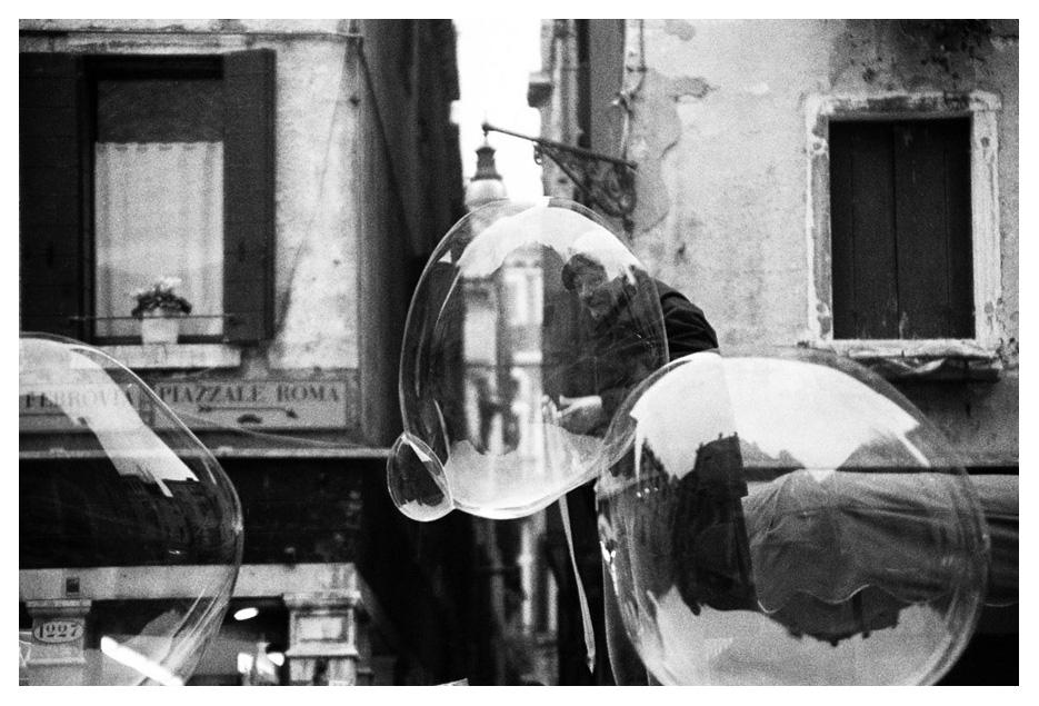 bolha de sabao em veneza - Foto: Dani Sandrini